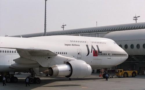 JAL 747-300 JA8166