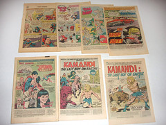 coverless comic books (preemo) Tags: old family tom comics jack duck dc kirby jerry donald superman read story marvel collect charlton kamandi