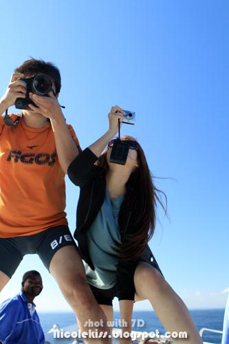balancing to take video