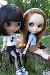 Alice & Vitória - Blythes Punkaholic People & PD Ashlette