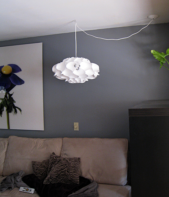 Phrena Pendant Lamp+My Living Room