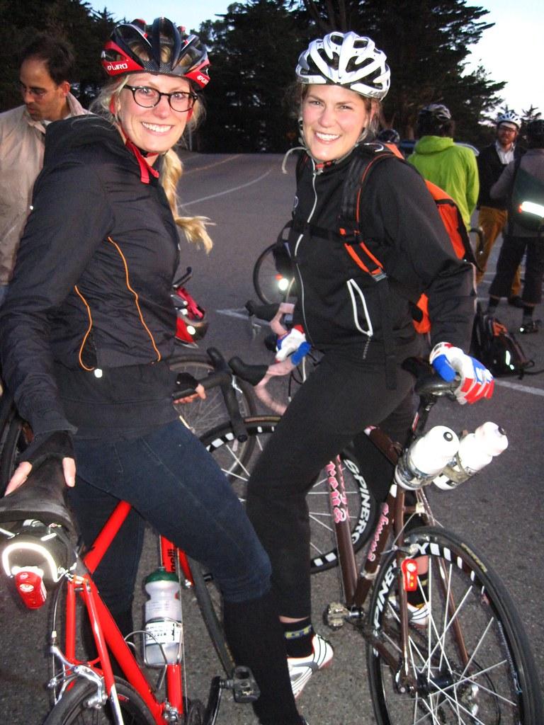 Kelley y Caitlin