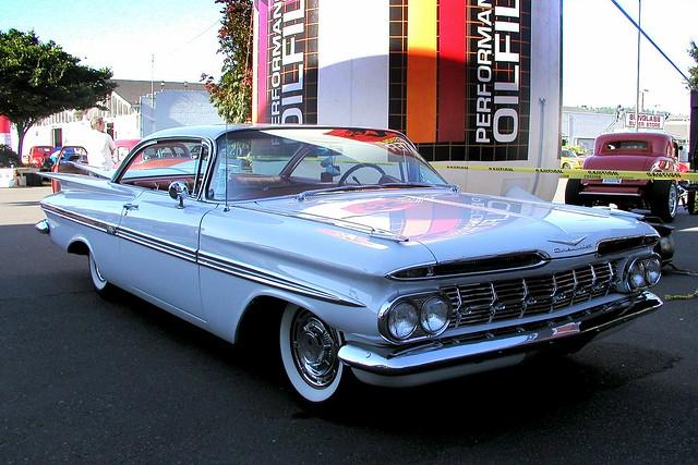chevrolet chevy impala puyallup 1959 chev goodguys 7212002