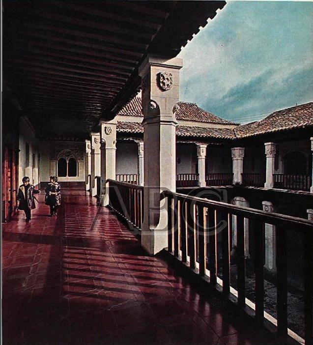 Palacio de Fuensalida en 1970. Fotografía de José Sánchez Martínez para la revista Blanco y Negro