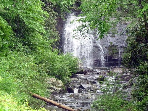 Secret Waterfall in the Smokies