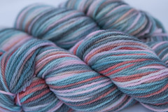 10% off- Hadassah on 3 ply Merino Wool - 3.5 oz. (...a time to dye)