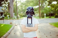 vader (laurenmarek) Tags: light home starwars costume kid nikon focus texas dof mask natural sigma adobe darthvader lightroom bellville 30mm d40 laurenmarek johnthomasmarek