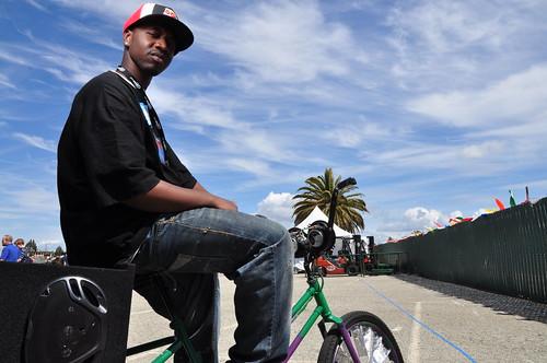 Baybe Champ: Scraper Bike King at Maker Faire