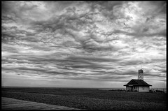cloudscape (syncros) Tags: house beach kew ir lifeguard beaches infrared hdr leuty photomatix