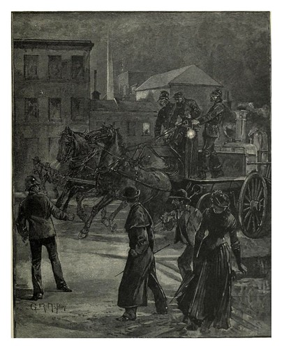 024-Alarma de incendio en Melbourne-Australasia illustrated (1892)- Andrew Garran