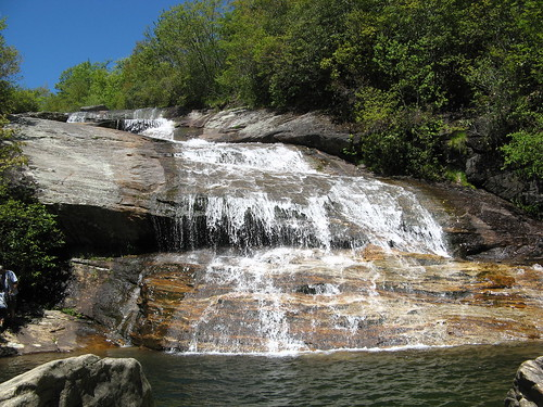 Waterfall near Graveyard Fields