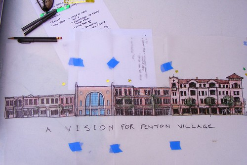 Vision of Fenton Village (Tony, Sandy & Steve Knight)