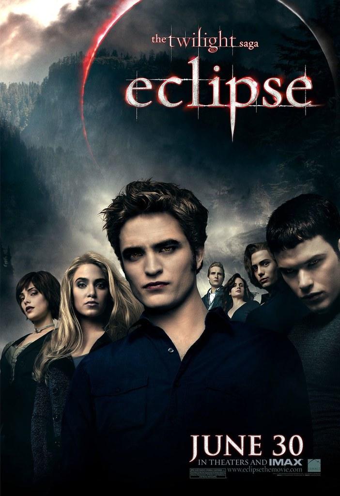Nuevo Poster de Crepúsculo: Eclipse (lleno de ojos rojos)
