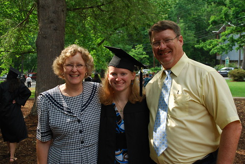 Parents with the graduate