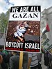 WE are all Gazan (Kombizz) Tags: world girl poster israel child palestine politics innocent censorship demonstration eltonjohn killed jews zionism racism thewall boycott murdered placard gaza controversial humanright zionismisracism palestian boycottisrael gazan kombizz sireltonherculesjohn weareallgazan