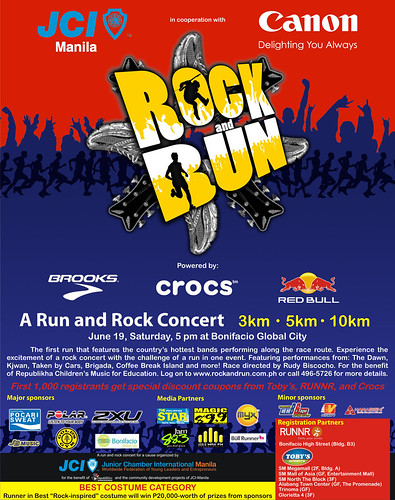 Rock and Run Print Ad