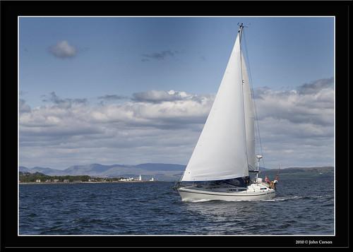 Moody 34 off Toward Point (John Corson) Tags: point scotland clyde sailing ...