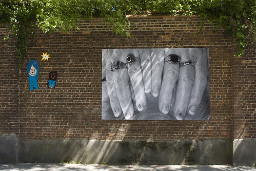 Onthulling kunstwerk in de Groefstraat