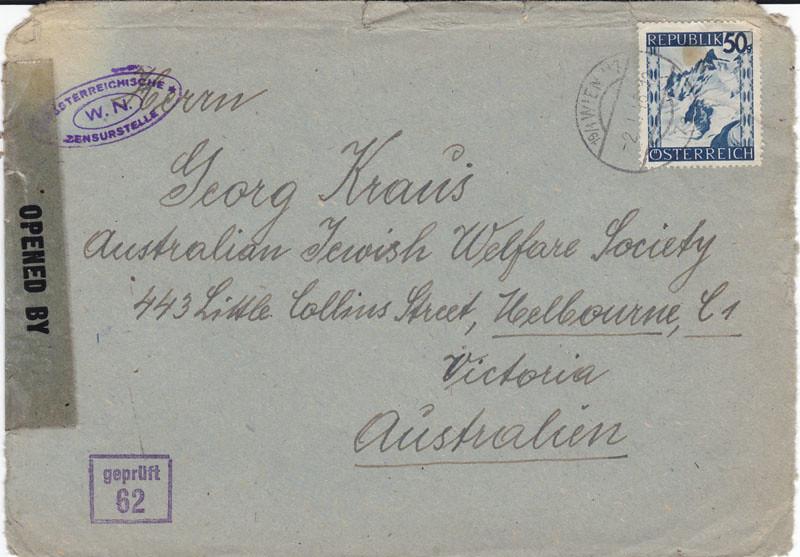Zensurierte Bedarfspost nach Australien 4648653835_a44ed9a4c9_b