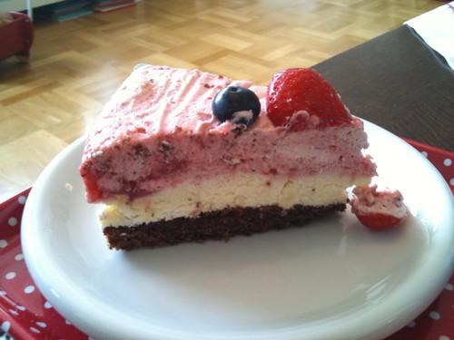 Och så lite moussetårta på det...