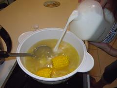 自製牛奶火鍋