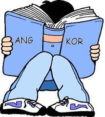 Leyendo sobre Angkor