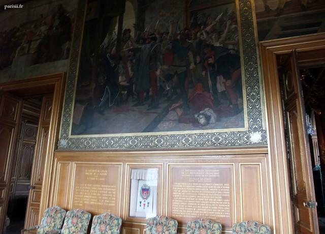 La Mairie possède de nombreux tableaux