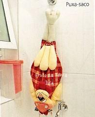 Puxa-saco (FRUTO DA TERRA / ILDA) Tags: galinha tecido puxasaco fugadasgalinhas
