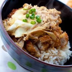 Chicken Katsu Oyakodon