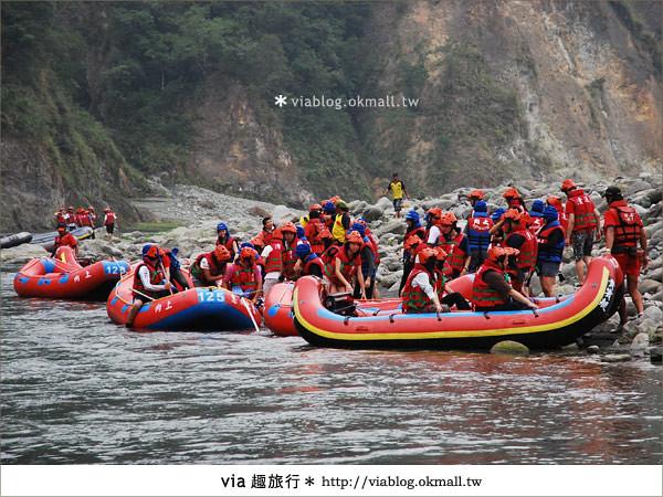 【花蓮旅遊】暑假玩花蓮最消暑的玩法~秀姑巒溪泛舟啦!6