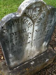 William Simmons headstone