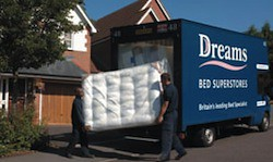Dream Beds delivery experience