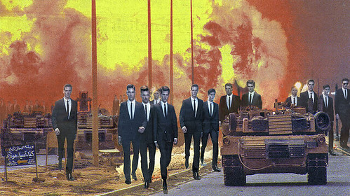 Martha Rosler, Invasion, 2008, Photomontage