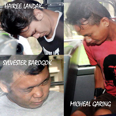 Three of the Kallang slashers