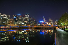 'Night Life' Australia, Melbourne, Skyline at ...