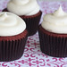 Red Carpet Red Velvet Cupcakes by Cushy Cakes Organic Cupcakes