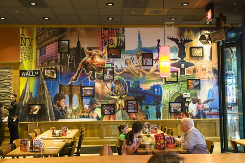 Times Square Applebee Wall Murals