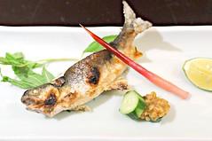 Ayu with Foie Gras, Tatsuya, Goodwood Hotel