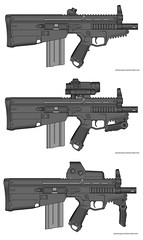 micro PDW (timberfox15) Tags: gun rifle weapon guns weapons pmg battletech