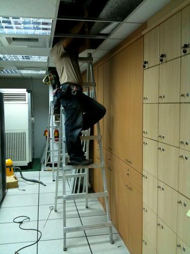16樓EMT管佈建