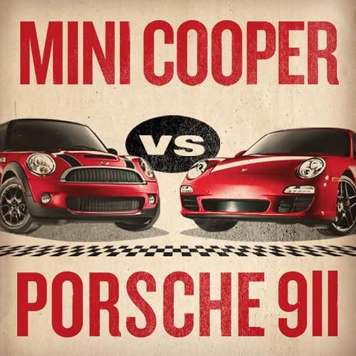 MINI versus Porsche