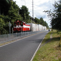 EPT1202 just north of the Ross Island bridge
