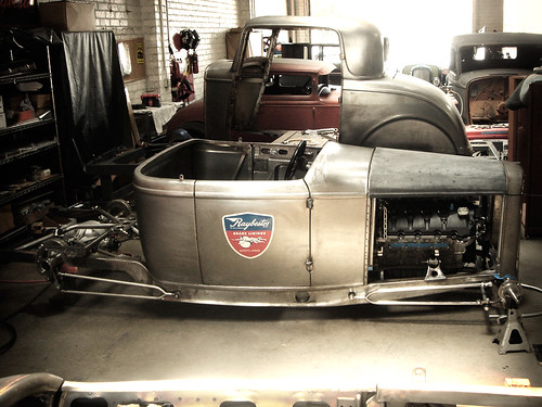 Hot rod custom restoration project