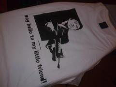 Scarface 2 (jajael) Tags: art al stencil tshirt custom scarface camisa pacino artcraft serigrafia
