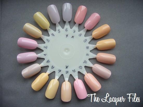 Wet Paint Nail Glaze System Pastel Nailwheel