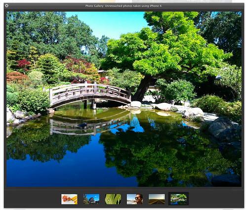 photos taken use iPhone 4