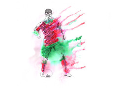 cris-ronaldo-wip (rticotropical) Tags: illustration soccer futebol