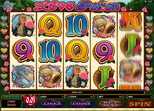 Love Potion slot game online review