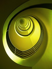 Pull. (Sascha Unger) Tags: light urban berlin art yellow architecture stairs germany design licht view perspective treppe gelb stadt wilmersdorf sascha architektur bannister perspektive charlottenburg iphone treppenhaus versicherung gelnder pictureshow deltalloyd lietzenburger sascha2010 saschaunger