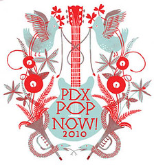 PDX Pop Now! 2010 Logo